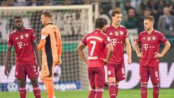 Bittere Klatsche für den FC Bayern in Gladbach