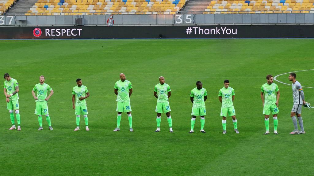 Der VfL Wolfsburg verabschiedet sich aus der Europa League