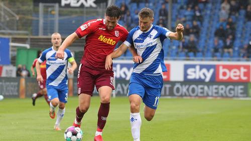 Kein Sieger im Duell zwischen Regensburg und Darmstadt