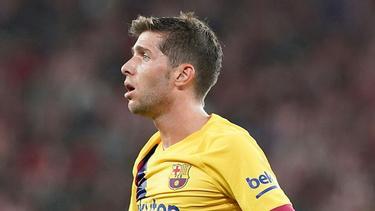 Barca-Profi Sergi Roberto positiv auf Corona getestet