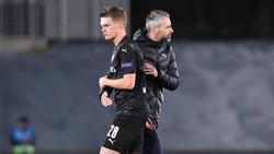Marco Rose (r.) wird als neuer BVB-Trainer gehandelt