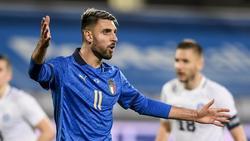 Vincenzo Grifo im Trikot der italienischen Nationalmannschaft