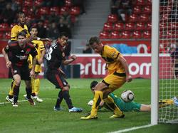 EL 2010/2011: Last-Minute-Erfolg für Bayer gegen Aris