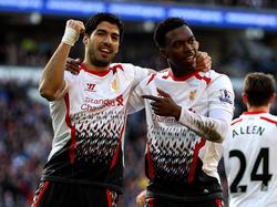 Luis Suarez e Daniel Sturridge, coppia d'attacco del Liverpool