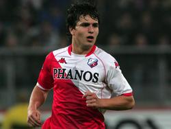 Gianluca Nijholt in actie tijdens FC Utrecht - Roda JC (23-10-2009)