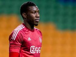 André Onana keept zijn eerste wedstrijd in de Amsterdam ArenA, maar dit doet hij nog wel in het elftal van Jong Ajax. Hier staat de Kameroener tegenover FC Eindhoven in de Jupiler League. (03-04-2015)