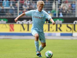 Dan-Patrick Poggenberg fällt zum Saisonstart für den MSV Duisburg aus