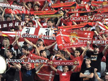 El Real Murcia es segundo de su grupo, detrás del otro equipo murciano, el UCAM. (Foto: Imago)