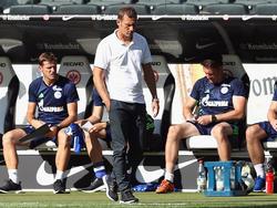 Markus Weinzierl war nach dem 0:1 in Frankfurt enttäuscht