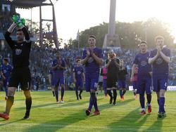 Erzgebirge Aue hat nach dem Relegations-Hinspiel alle Trümpfe in der Hand