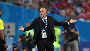 Russlands Trainer Cherchesov will sich auf dem Erfolg nicht ausruhen