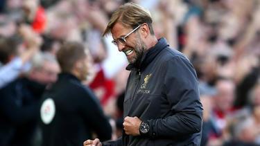 Jürgen Klopp und der FC Liverpool sind derzeit nicht zu bremsen
