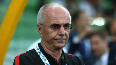 Trainer Sven-Göran Eriksson ist neuer Trainer des Nationalteams der Philippinen