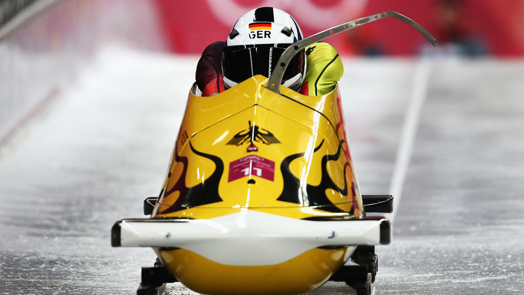 Nico Walther ist zum dritten Mal deutscher Meister im Zweier-Bob