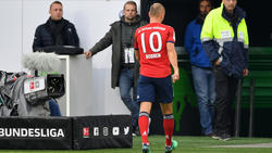 Arjen Robben musste den Platz vorzeitig verlassen