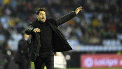 Celta Vigo hat sich von Trainer Antonio Mohamed getrennt