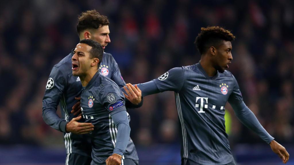 Der FC Bayern hat das Achtelfinale der Champions League erreicht