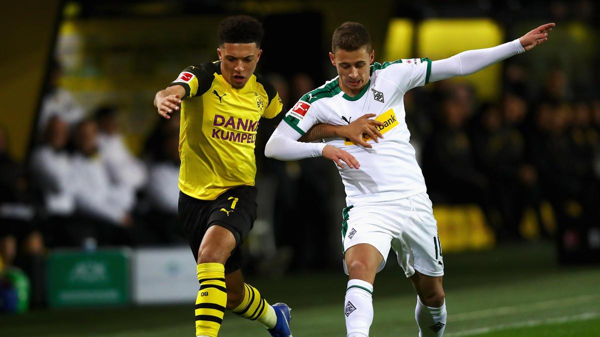 Spielen Jadon Sancho und Thorgan Hazard in der nächsten Saison zusammen beim BVB?