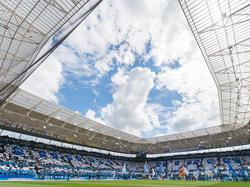 Die TSG Hoffenheim freut sich über eine schöne Kulisse gegen Liverpool