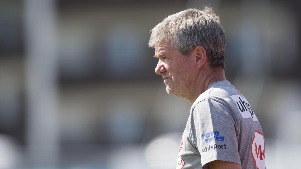 Düsseldorfs Trainer Friedhelm Funkel würde Clemens Tönnies verzeihen