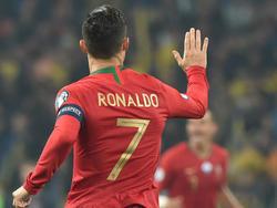 Ronaldo traf auch gegen die Ukraine