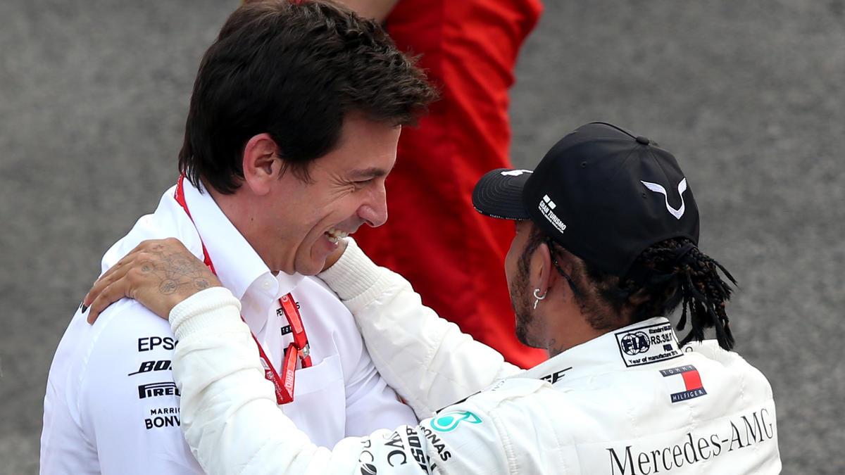Toto Wolff und Lewis Hamilton basteln bald an ihrer weiteren Zusammenarbeit