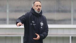 Pellegrino Matarazzo will mit dem VfB Stuttgart aufsteigen