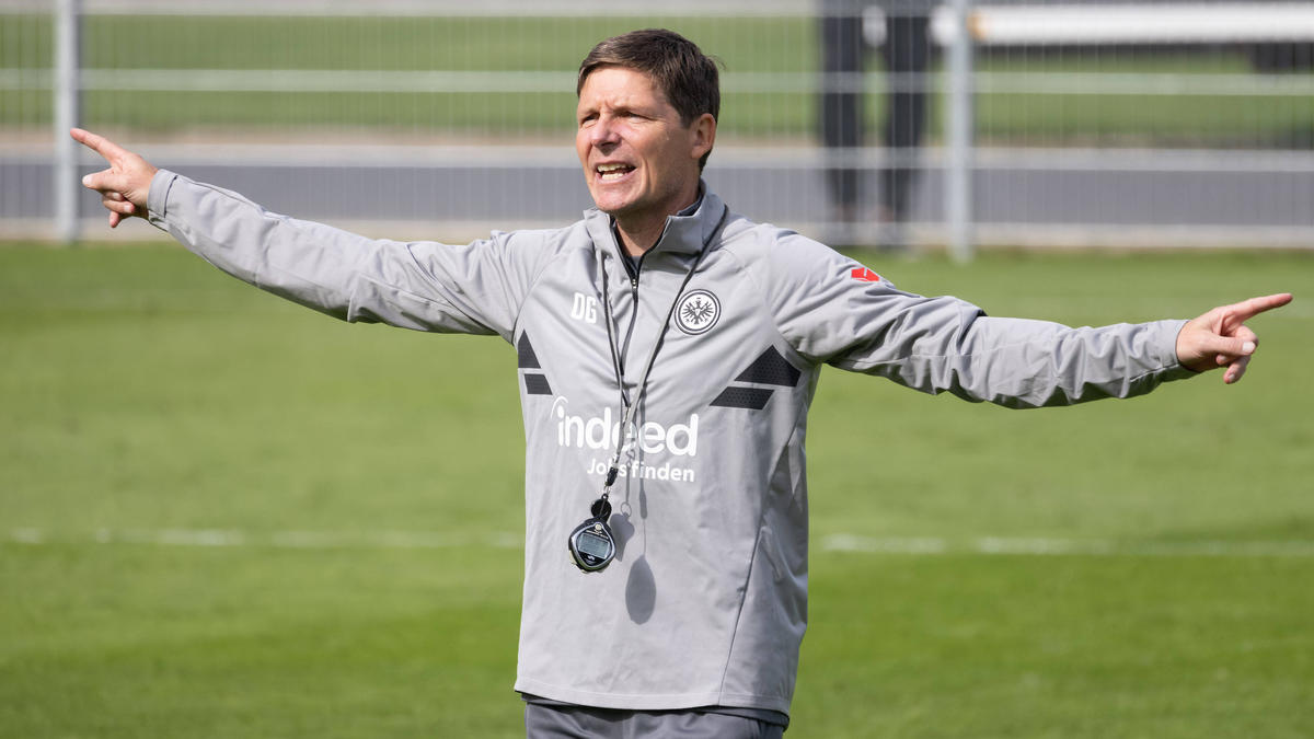 Oliver Glasner steht mit Eintracht Frankfurt unter Druck