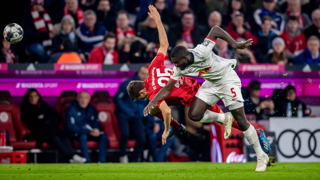 Dayot Upamecano von RB Leipzig wird beim FC Bayern gehandelt