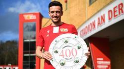 Christian Gentner von Union Berlin steht vor seinem 400. Bundesligaspiel