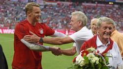 Legenden des FC Bayern unter sich: Manuel Neuer und Sepp Maier