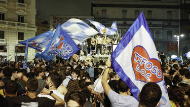 Neapel feiert ausgelassen den Coppa-Sieg