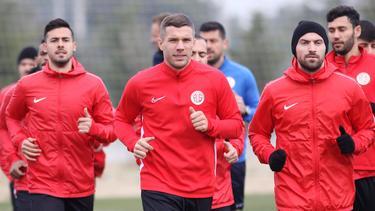 Lukas Podolski will mit Antalyaspor bald in die neue Spielzeit starten