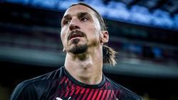 Stürmt wohl weiter für den AC Mailand:Zlatan Ibrahimovic