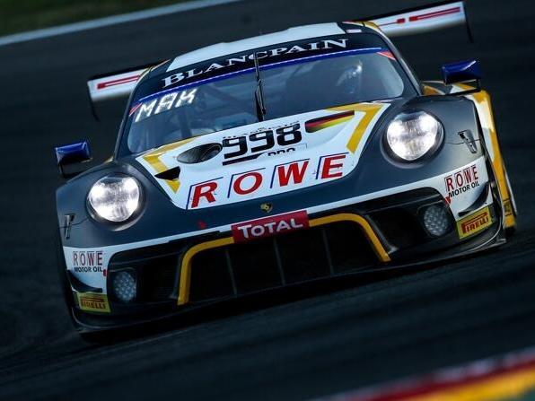 Der Porsche 911 GT3 R des Rowe-Teams gewann eben erst die 24 Stunden von Spa