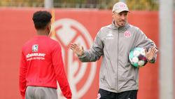 Mainz-Coach Lichte berichtete von einer intensiven Trainingswoche