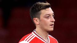 Mesut Özil steht beim FC Arsenal auf dem Abstellgleis
