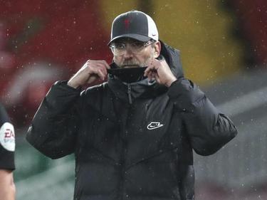 Ein enttäuschter Jürgen Klopp nach der Niederlage gegen Brighton