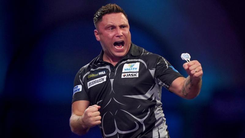 Amtierender Darts-Weltmeister: Gerwyn Price