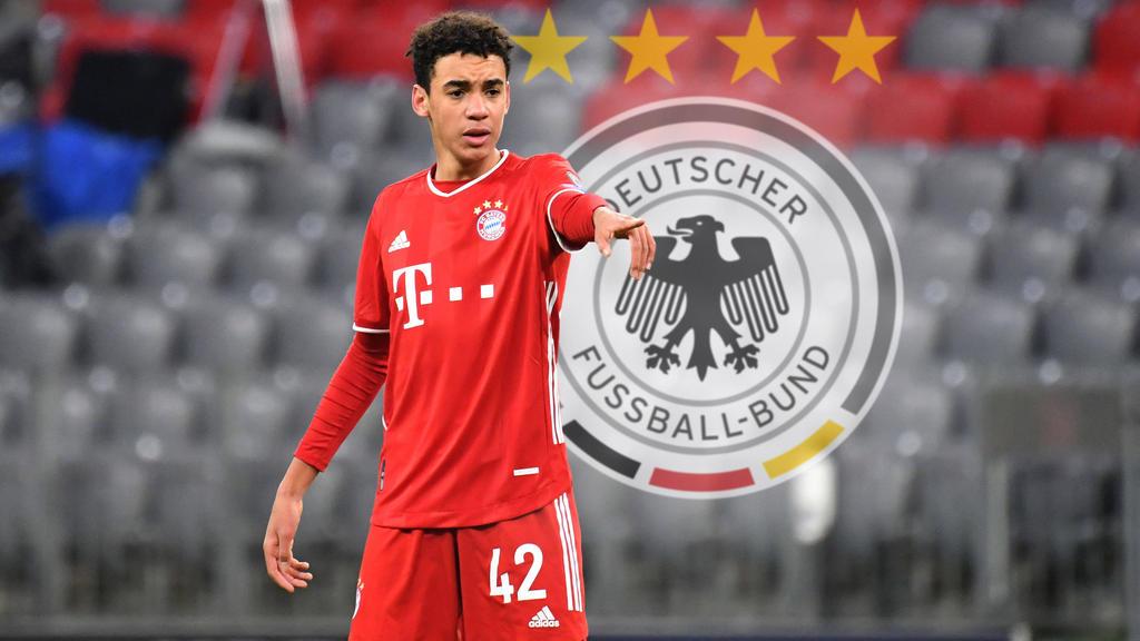 Jamal Musiala im Trikot des FC Bayern München