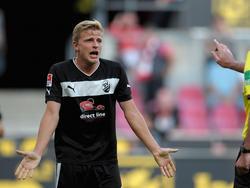 Nicky Adler muss mit dem SV Sandhausen nach Frankfurt