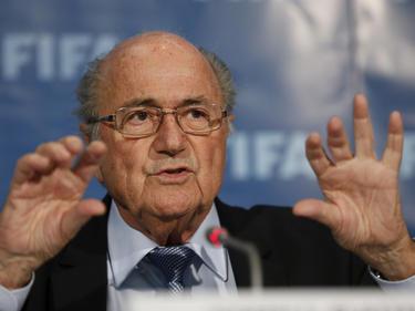 Blatter en rueda de prensa. (Foto: Getty)