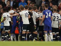 El duelo entre los dos equipos de Londres estuvo repleto de tensión. (Foto: Getty)