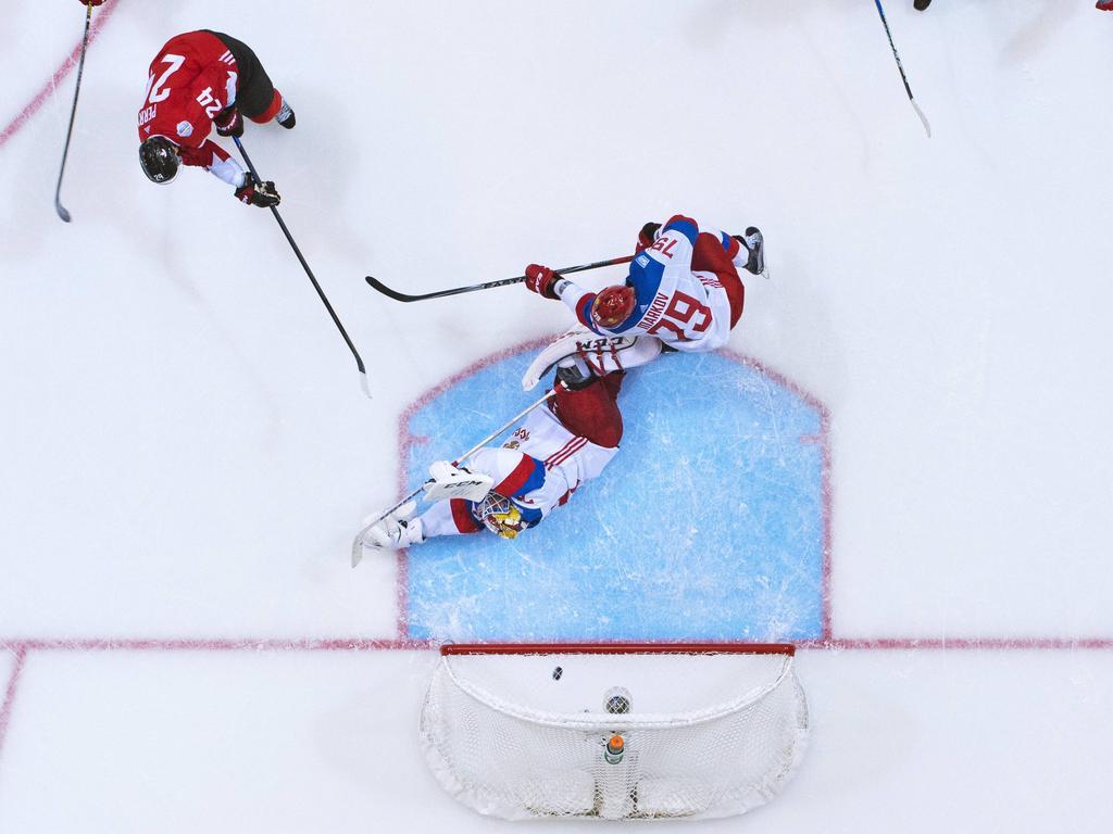 Kanadas Corey Perry traf zum 4:2