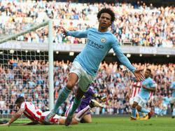 Leroy Sané ist Stammspieler bei Manchester City
