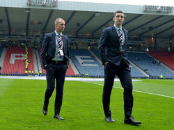Suspended: Kenny Miller and Lee Wallace