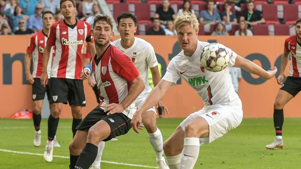 FC Augsburg verlieren gegen Bilbao mit 0:1