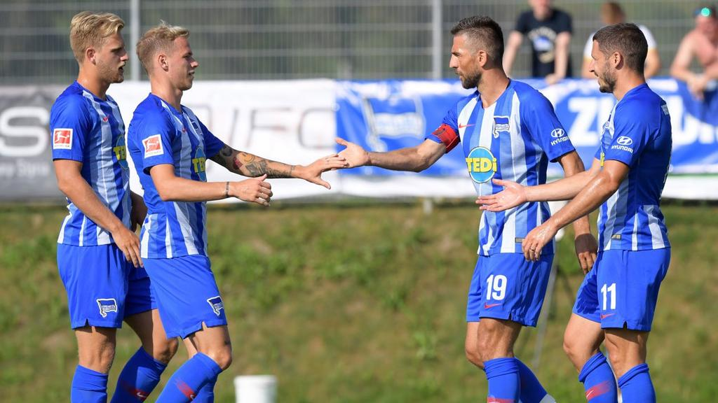 Hertha BSC schlägt den FC Liefering (Bildquelle: herthabsc.de)