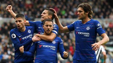 Der FC Chelsea gewinnt knapp gegen Newcastle