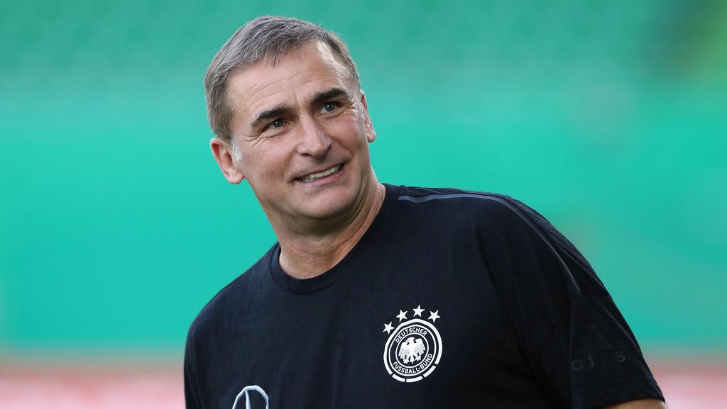 Stefan Kuntz steht mit der U21 des DFB vor einer wichtigen Partie